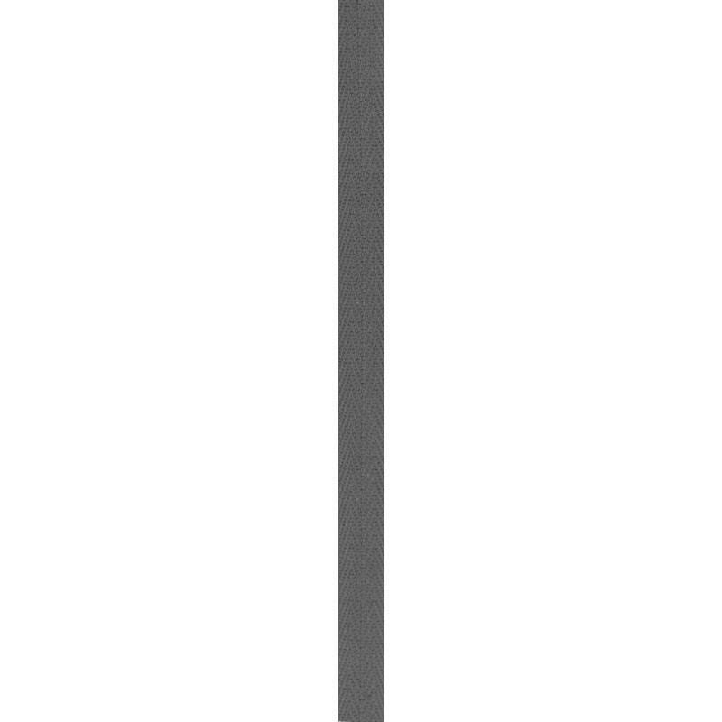 Ruban sergé gris anthracite 11 mm