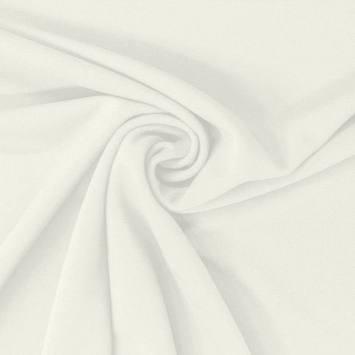 Tissu scuba blanc cassé