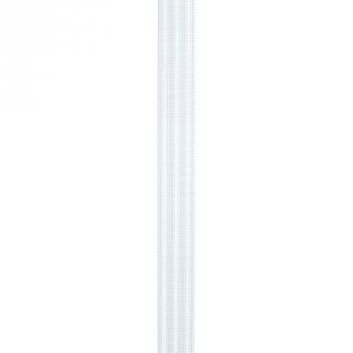 Elastique blanc gaufré 20 mm