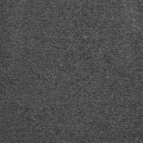 Toile polycoton grise fil argenté