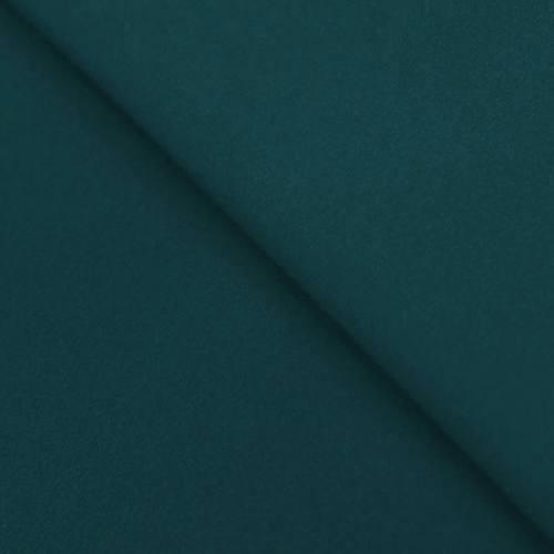 Tissu lainage caban bleu canard