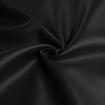 Tissu scuba effet simili noir