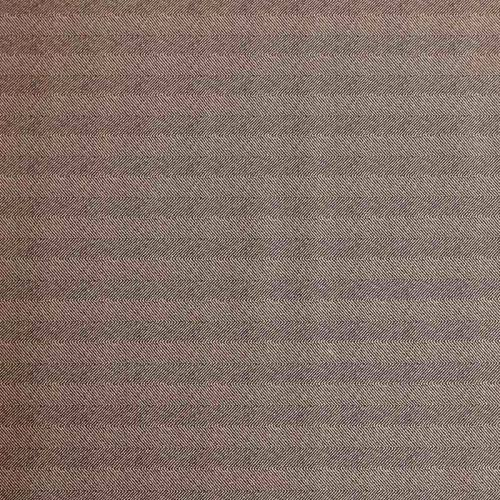 Tissu scuba suédine beige motif chevron