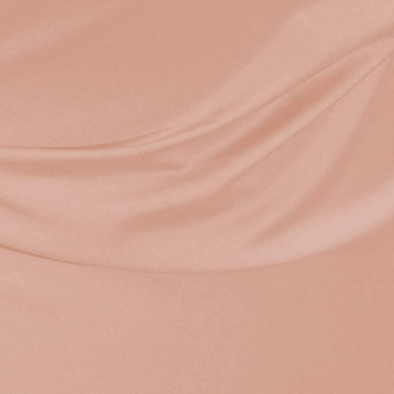Satin microfibre royal rose pastel