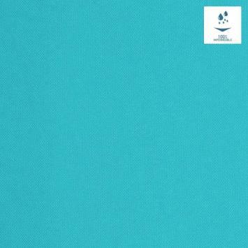Tissu imperméable bleu lagon