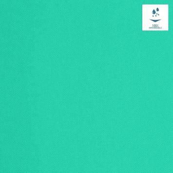 Tissu imperméable vert turquoise