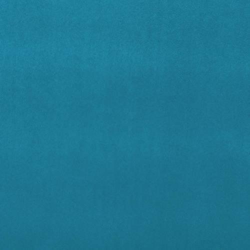 Suédine alaska réversible bleu canard/jaune soleil