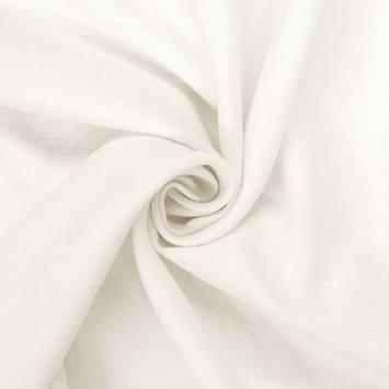 coupon - Coupon 65cm - Tissu aspect lin écru
