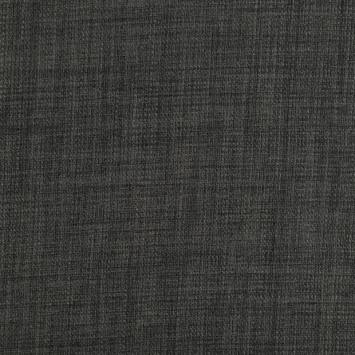 Toile polyester chiné gris