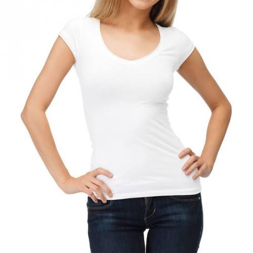 coupon - Coupon 95cm - Jersey coton blanc