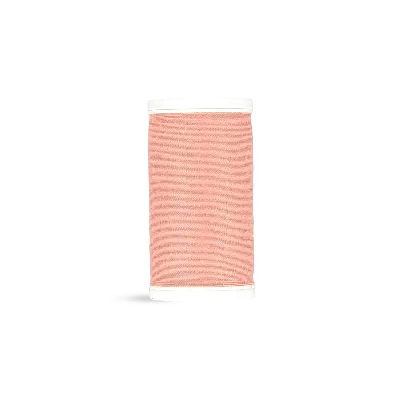 Fil polyester Laser rose saumon 2436