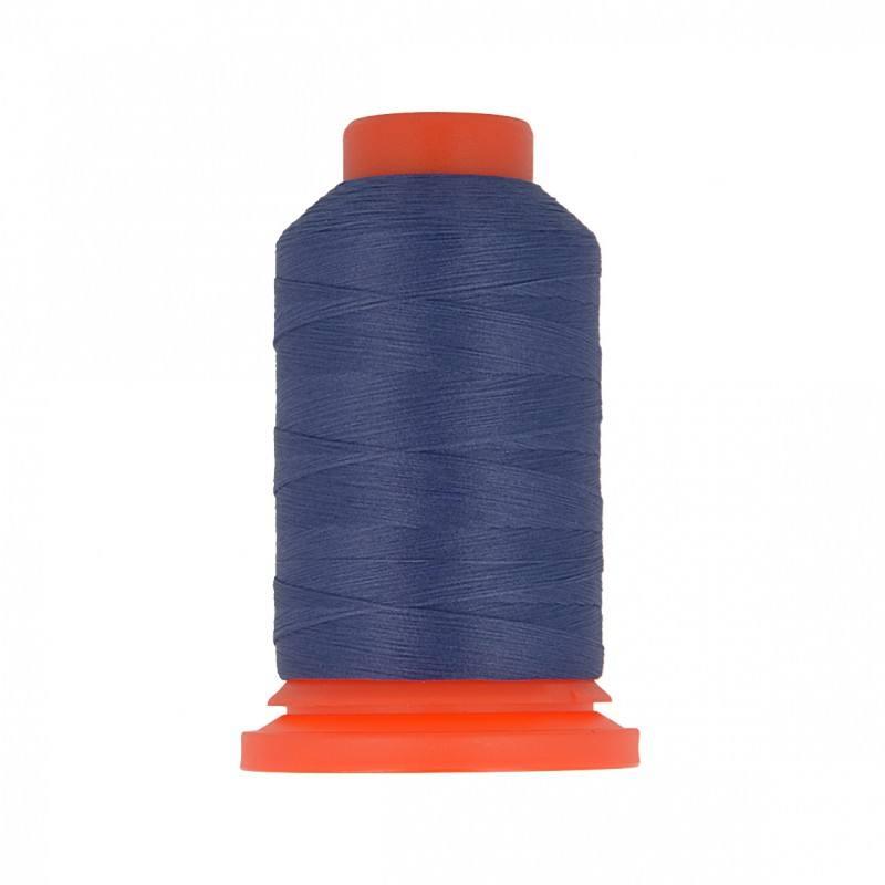 Cône de fil mousse bleu marine