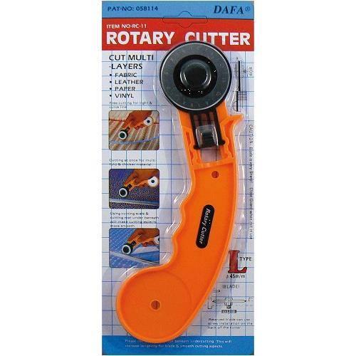 Cutter rotatif diam.45mm lame droite