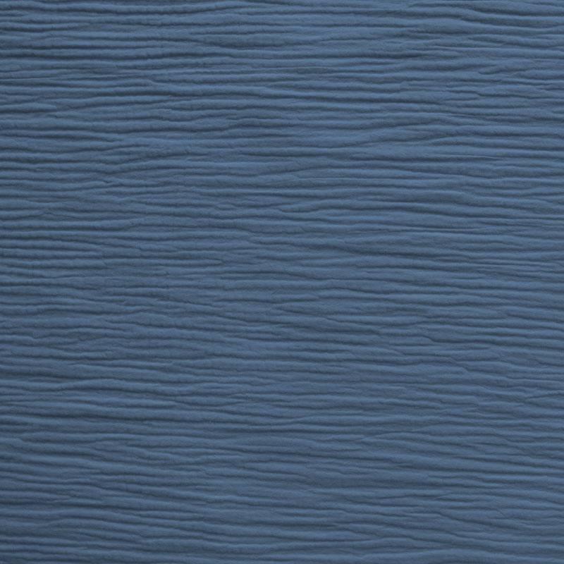 Triple gaze de coton bleu jean