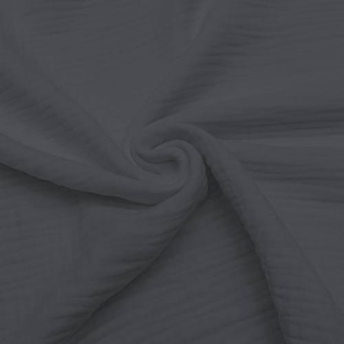 Triple gaze de coton grise
