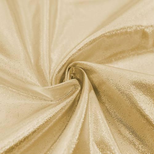 Tissu lamé or