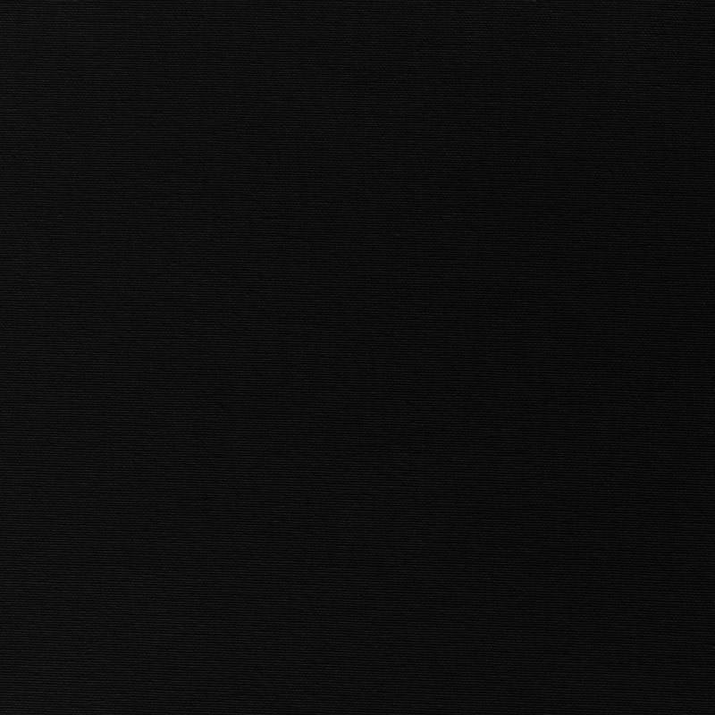Toile coton demi-natté noir