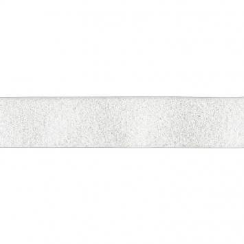 Auto agrippant adhésif velours 50 mm blanc