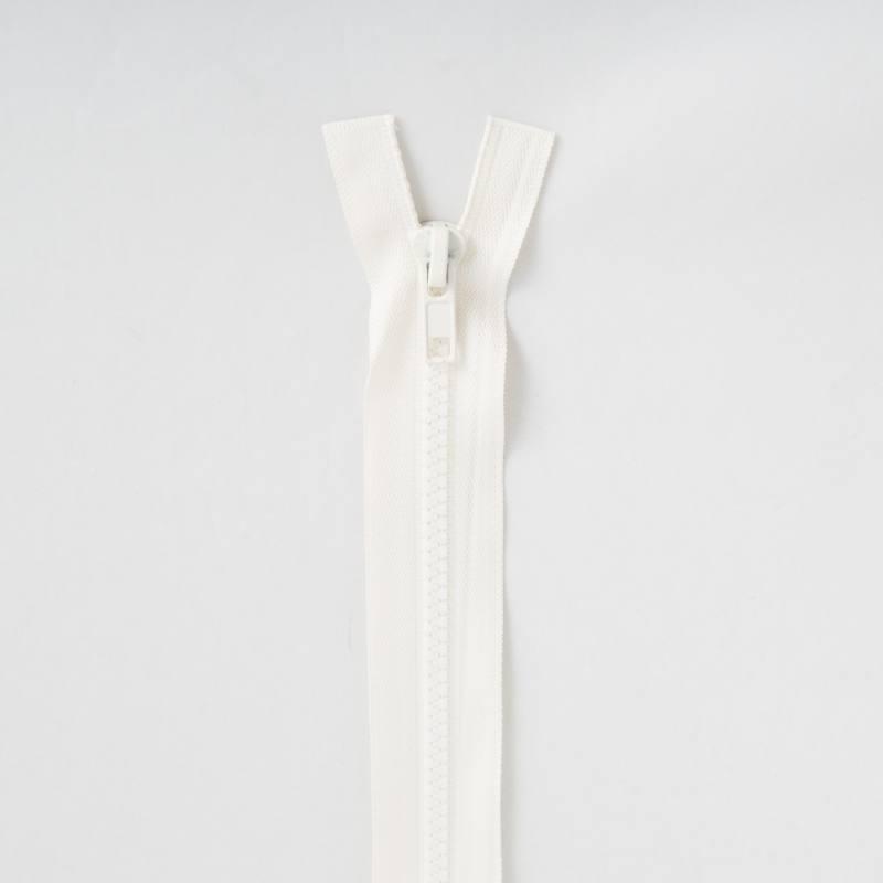 Fermeture injectée crème 60 cm séparable col 801