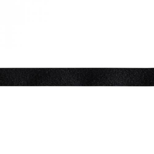 Auto agrippant à coudre velours 16 mm noir