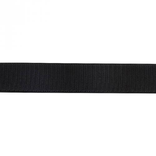 Auto agrippant adhésif crochet 20 mm noir