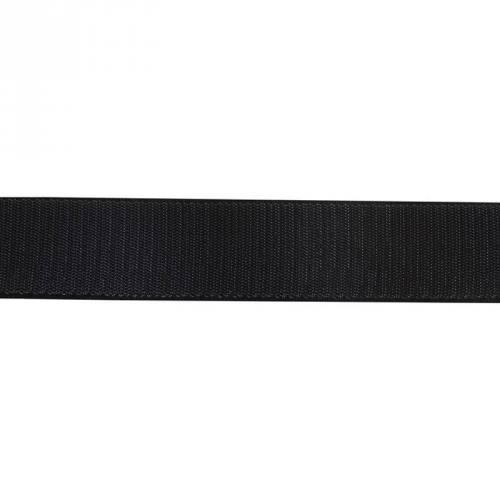 Auto agrippant adhésif crochet 30 mm noir