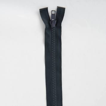 Fermeture injectée bleu foncée 25 cm séparable col 196