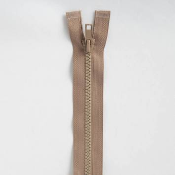 Fermeture injectée beige 50 cm séparable col 894