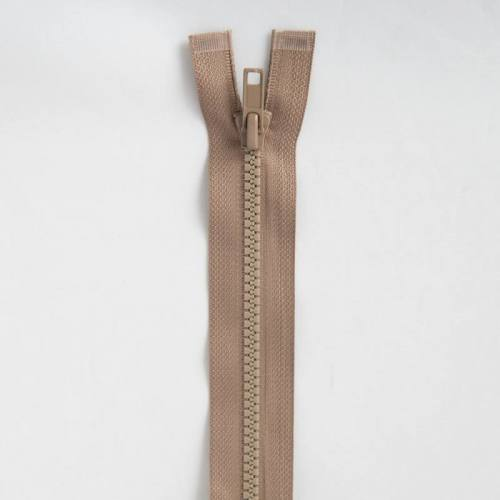 Fermeture injectée beige 55 cm séparable col 894