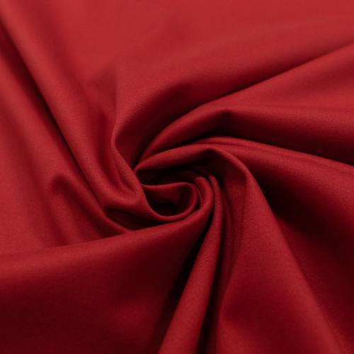Coton stretch rouge