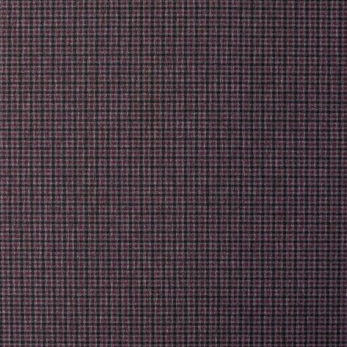 Punto milano noir motif à petits carreaux gris et bordeaux