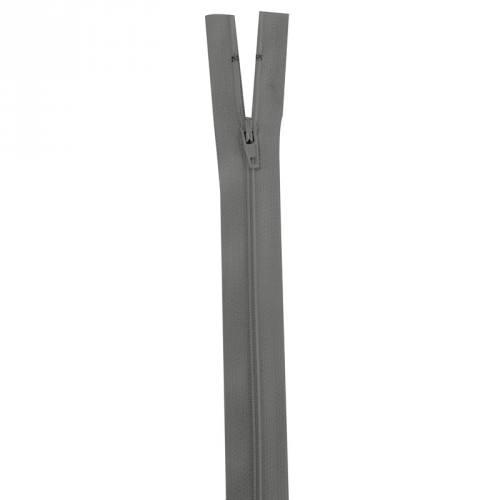 Fermeture grise 15 cm non séparable col 243