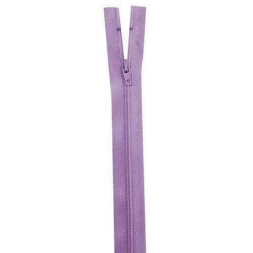 Fermeture lilas 25 cm non séparable col 862