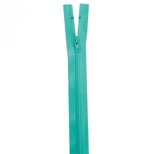 Fermeture vert lagon 30 cm non séparable col 825