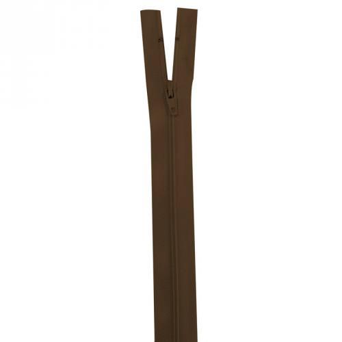 Fermeture marron 40 cm non séparable col 568