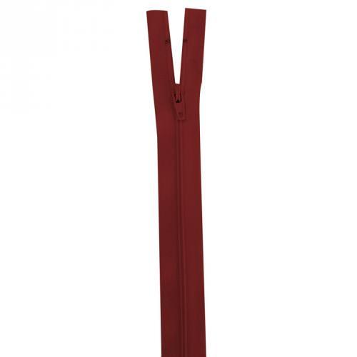 Fermeture rouge foncé 45 cm non séparable col 059