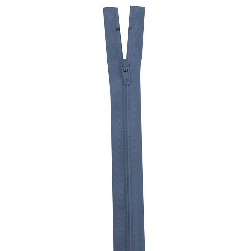 Fermeture bleu horizon 35 cm non séparable col 145