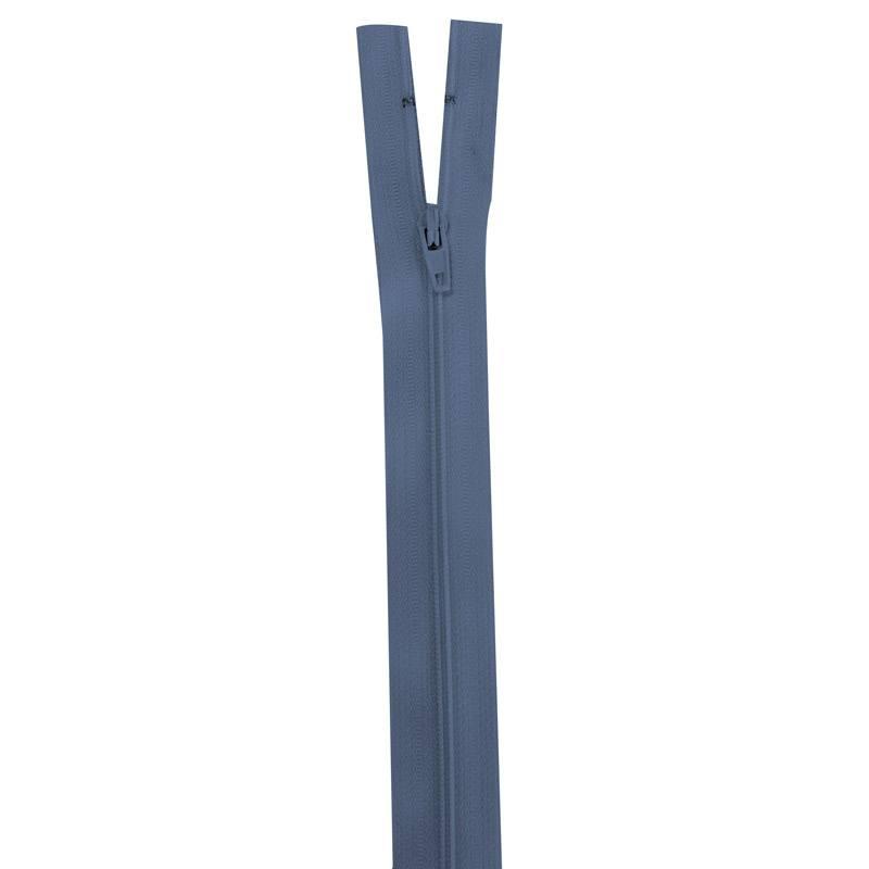 Fermeture bleu horizon 25 cm non séparable col 145