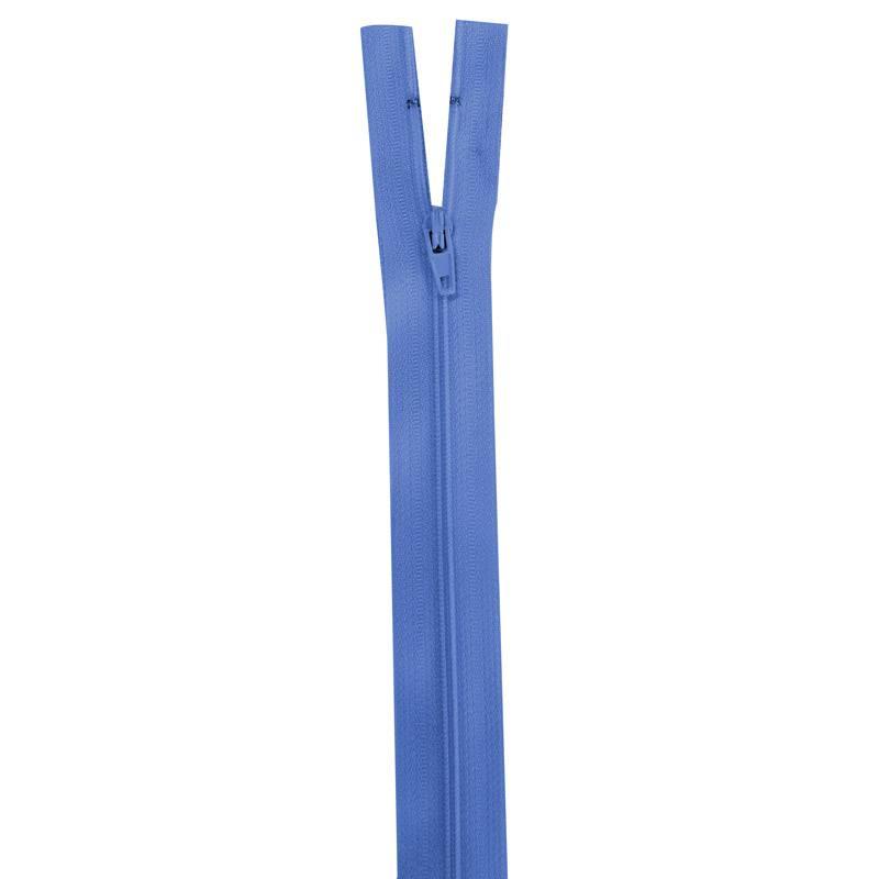 Fermeture bleu de France 20 cm non séparable col 144