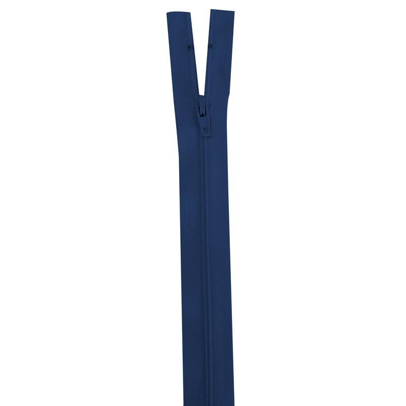 Fermeture bleu marine 25 cm non séparable col 039