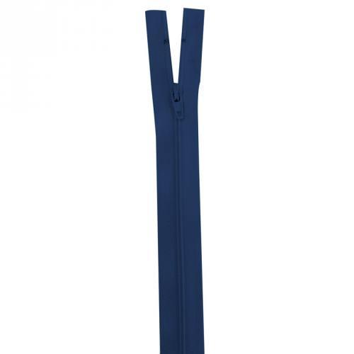 Fermeture bleu foncé 18 cm non séparable col 039