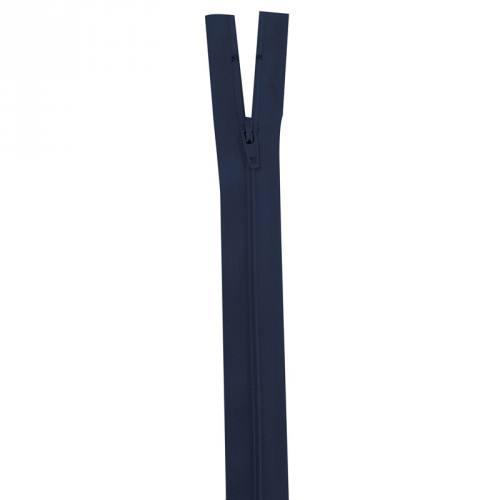 Fermeture bleu marine 15 cm non séparable col 233