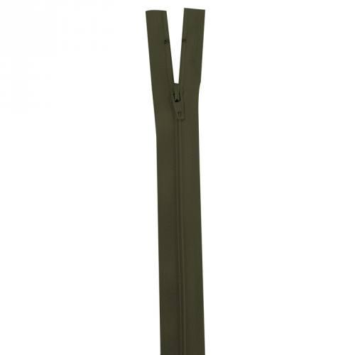 Fermeture vert kaki 35 cm non séparable col 305