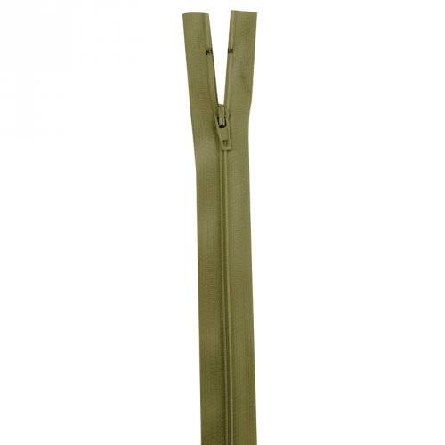 Fermeture vert militaire 45 cm non séparable col 999