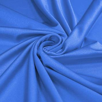 Lycra bleu bleuet scintillant