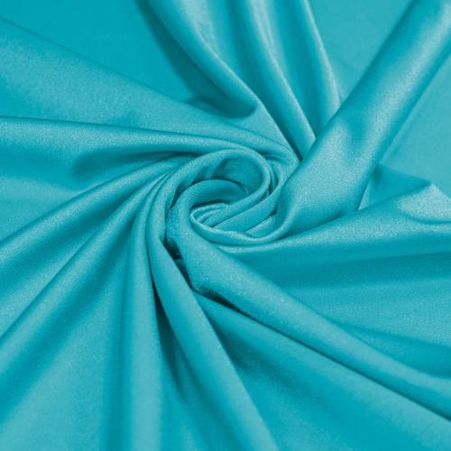 Lycra maillot de bain bleu turquoise scintillant