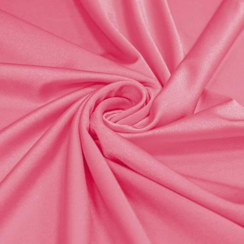 Lycra rose bonbon scintillant