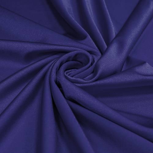 Lycra maillot de bain bleu indigo scintillant