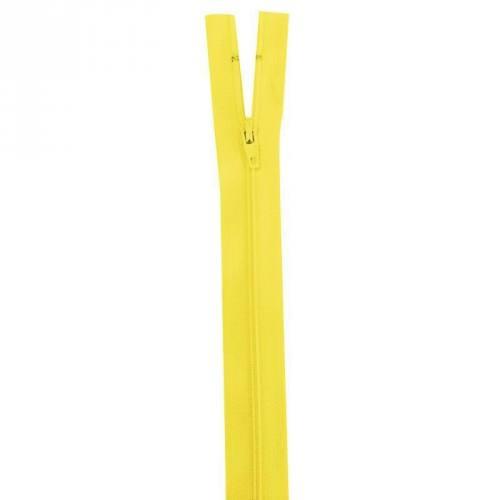 Fermeture jaune 30 cm non séparable col 504