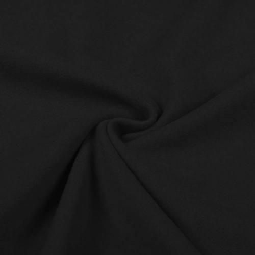 Tissu lainage caban noir